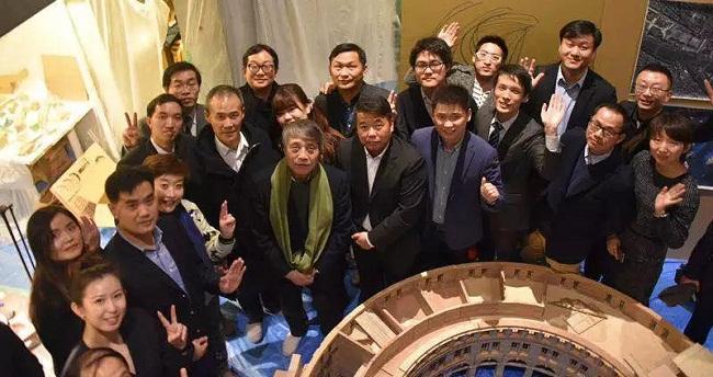 中国知名设计师团队拜访大师安藤忠雄